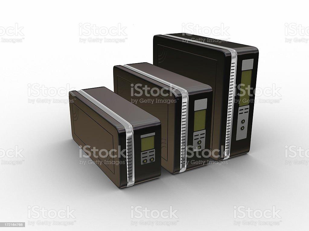 Computer Server Series 07 royalty-free stock photo