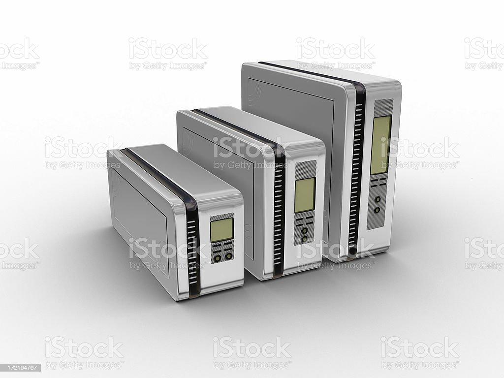 Computer Server Series 08 stock photo