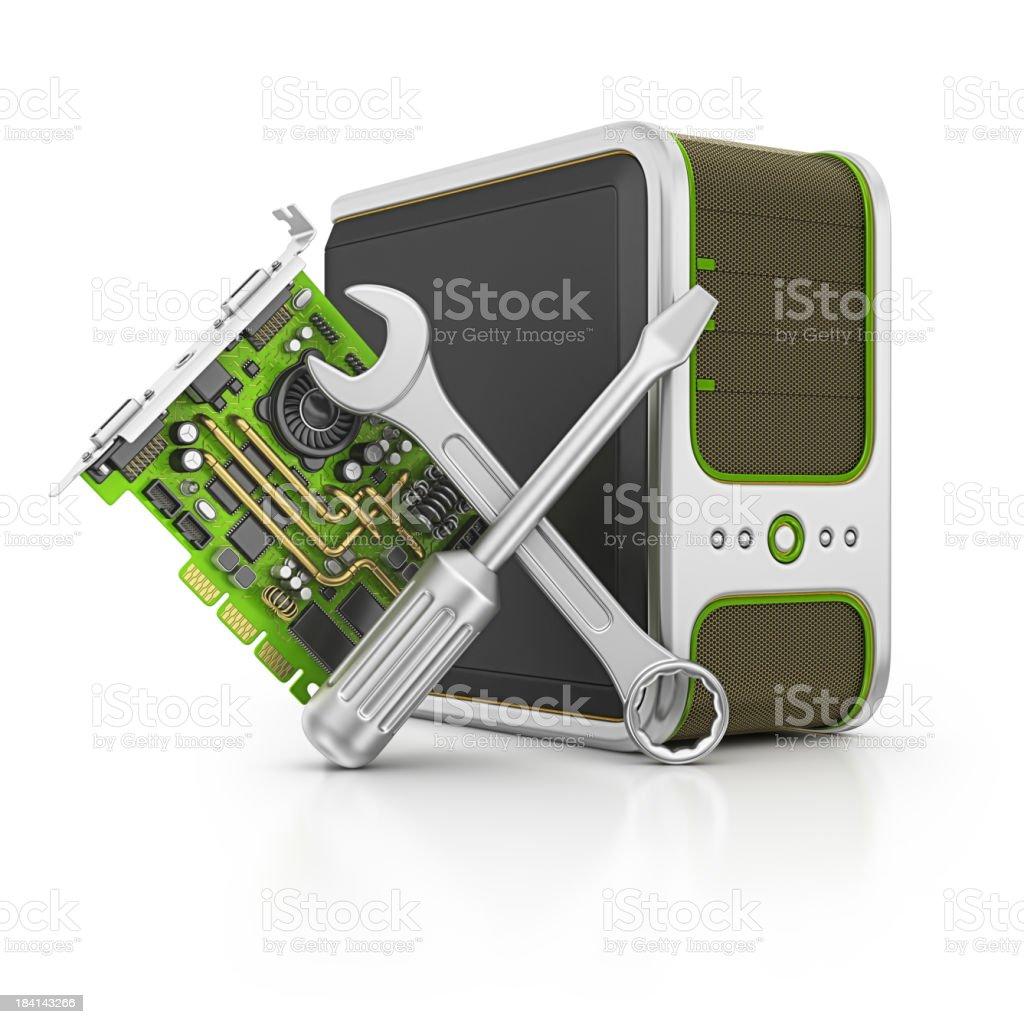 computer service royalty-free stock photo