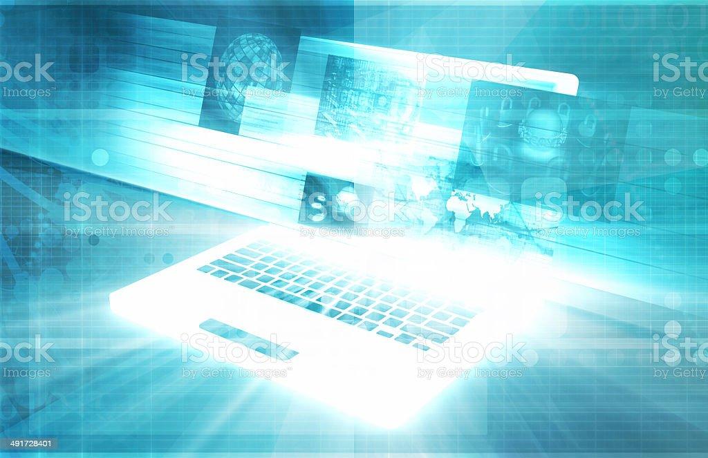 Computer Technology stock photo
