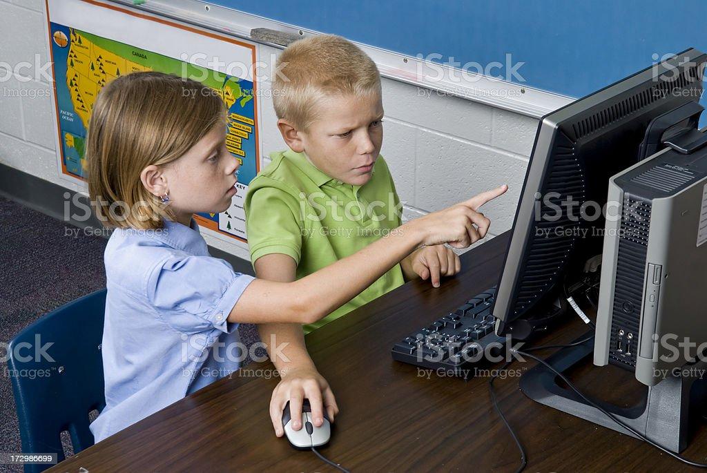 Computer-Zeit Lizenzfreies stock-foto