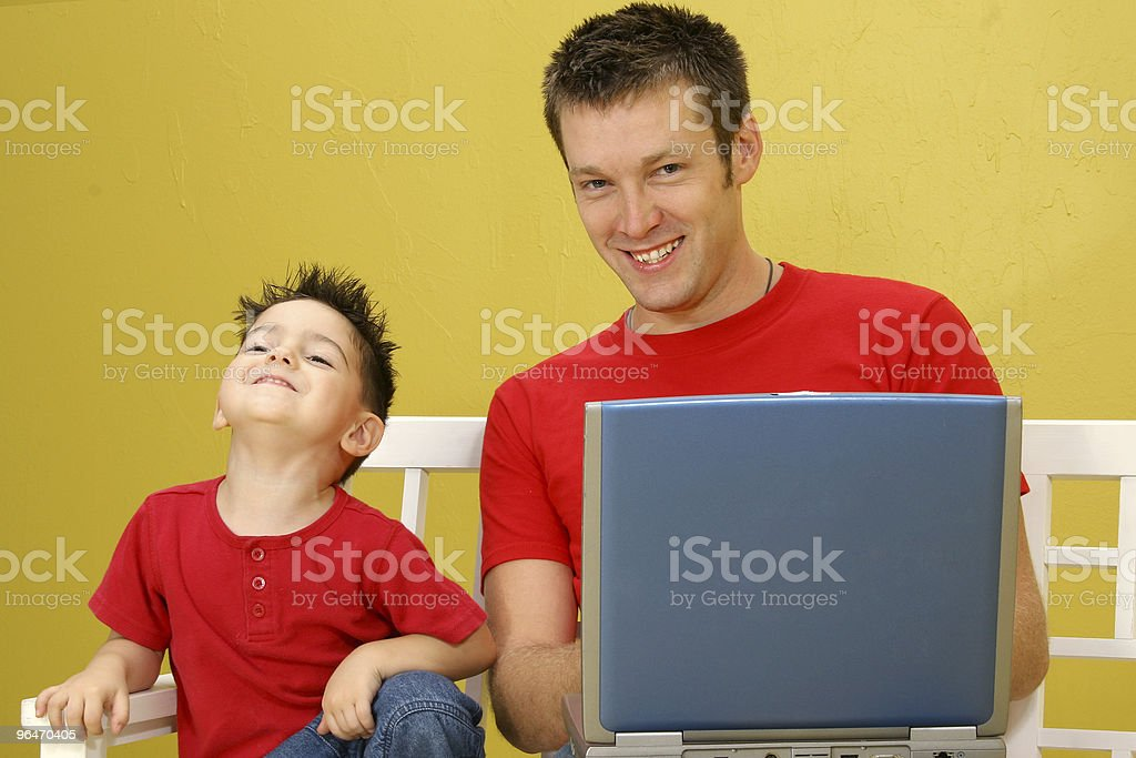 Computer Time royalty-free stock photo