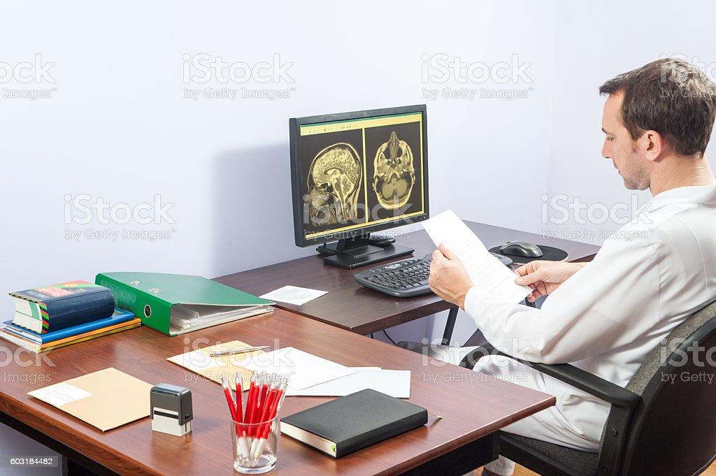 computer tomography stock photo