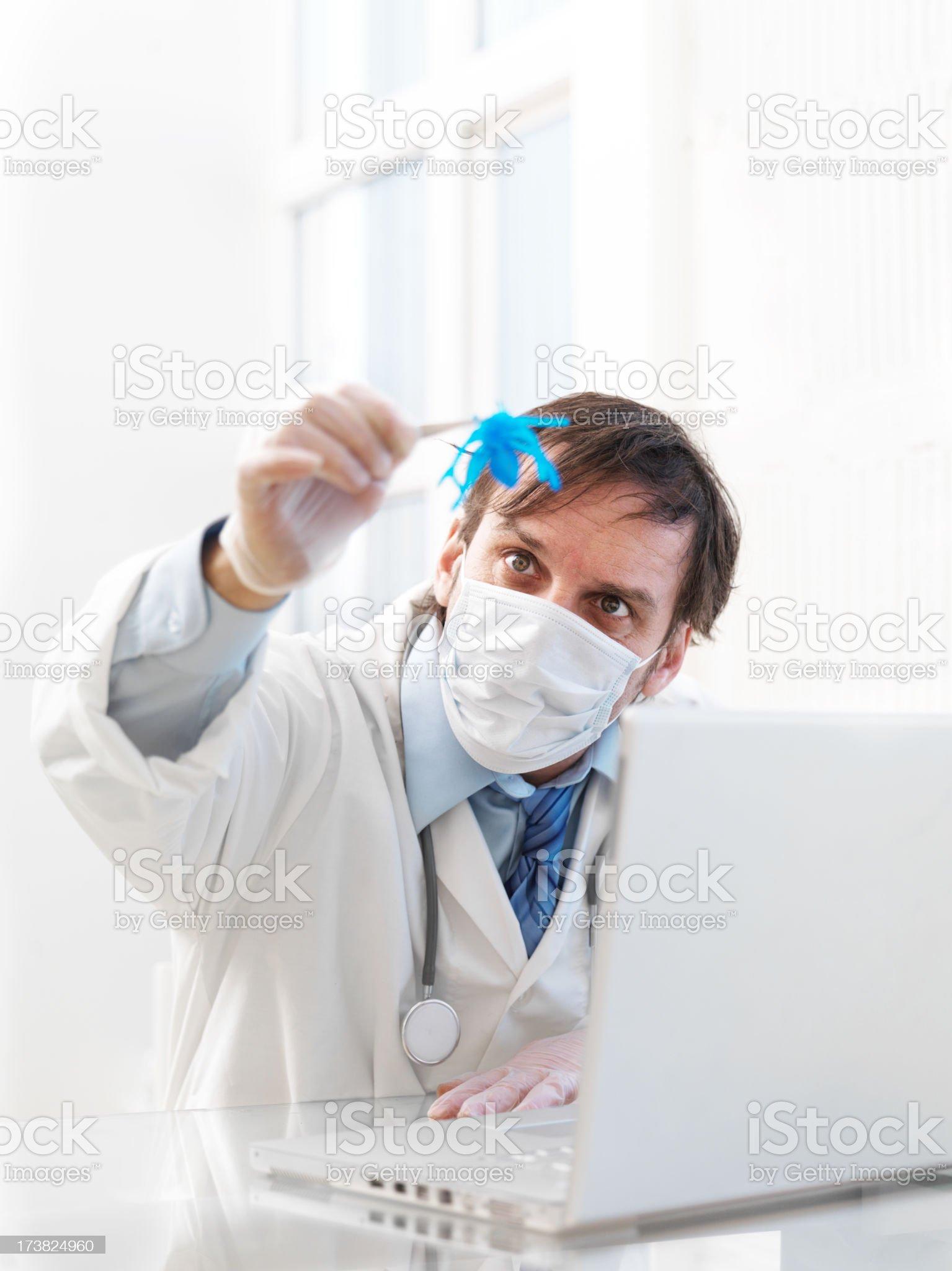 Computer virus royalty-free stock photo