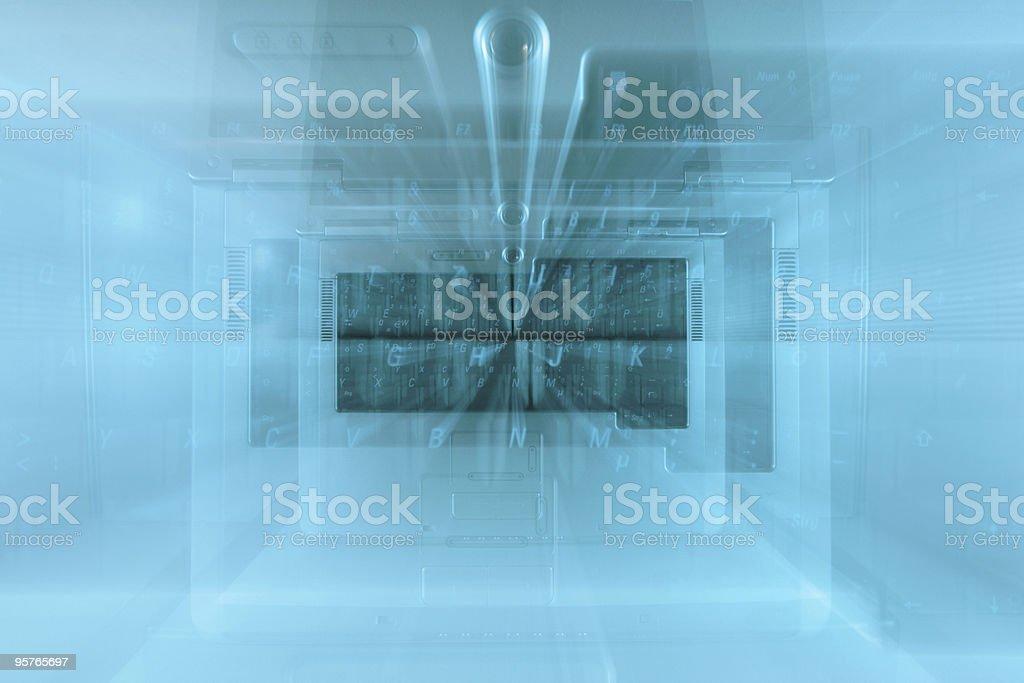 Computer Vision royalty-free stock photo
