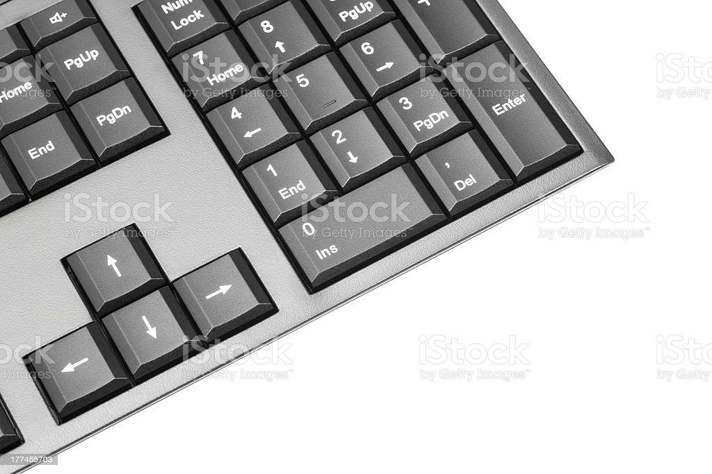 Computer Wireless Keyboard royalty-free stock photo