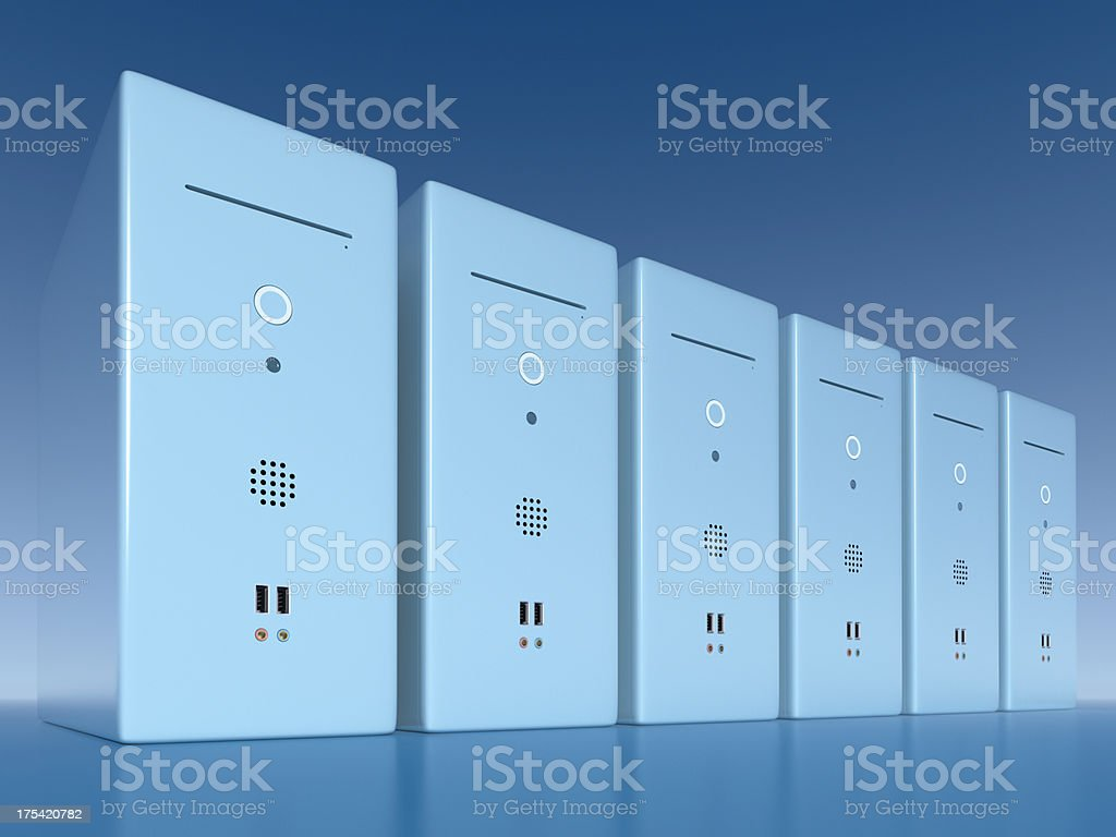 Computing Power XL+ royalty-free stock photo