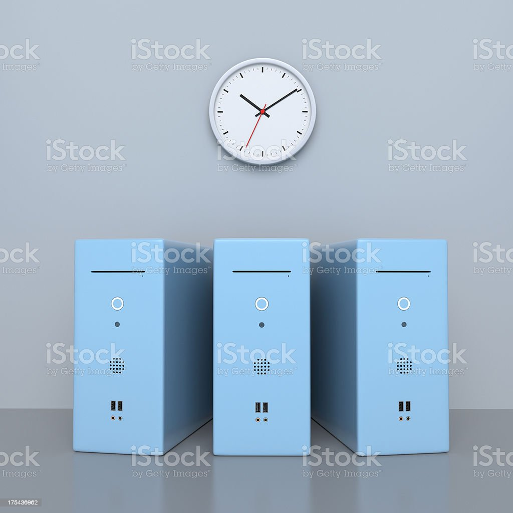Computing Power XL+ stock photo