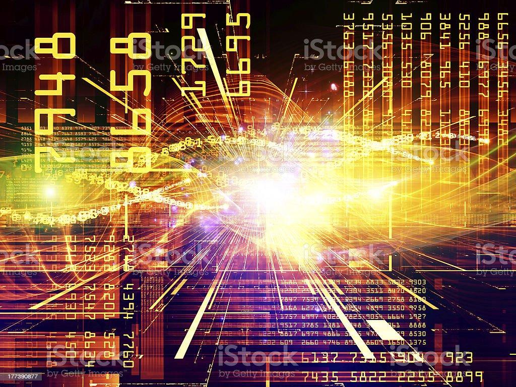Computing Signals royalty-free stock vector art