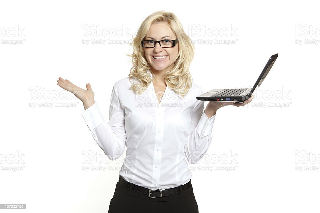 Computing WIth Ease royalty-free stock photo