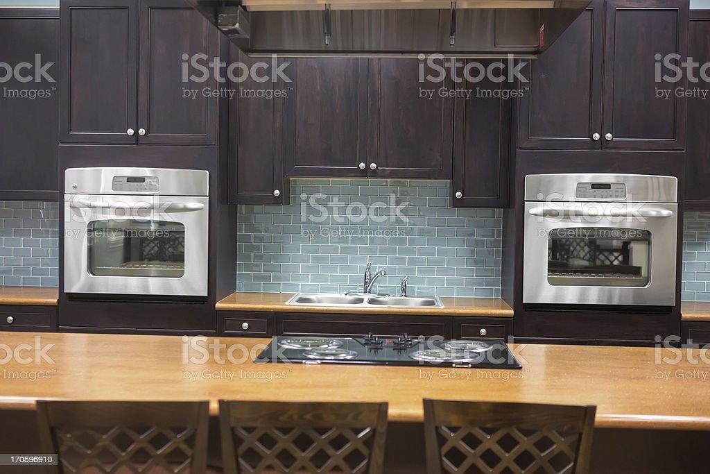 Comtemporary kitchen royalty-free stock photo