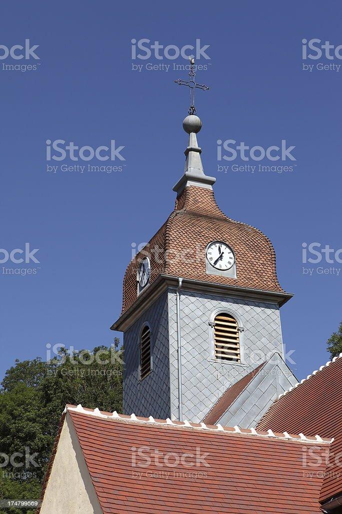 Comtois steeple stock photo