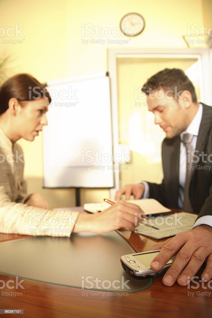 Concentrate On Work royalty-free stock photo