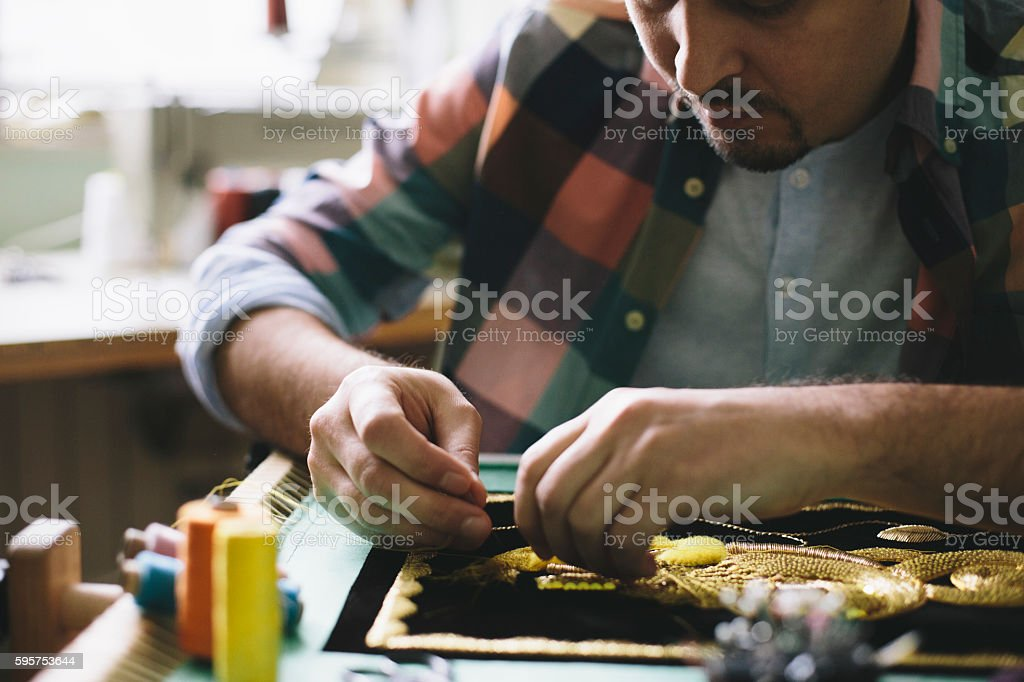 Concentration and persistance stock photo
