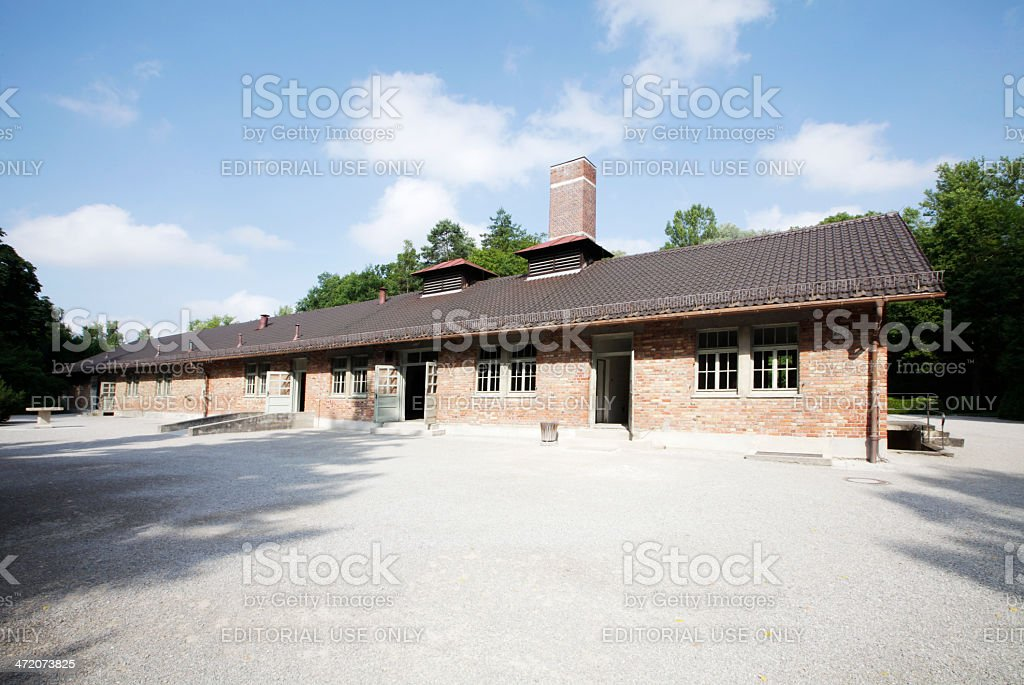 Concentration Camp Dachau, Germany stock photo
