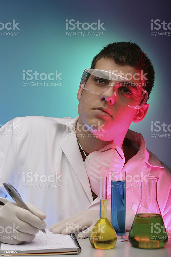 Concentration I+D series royalty-free stock photo