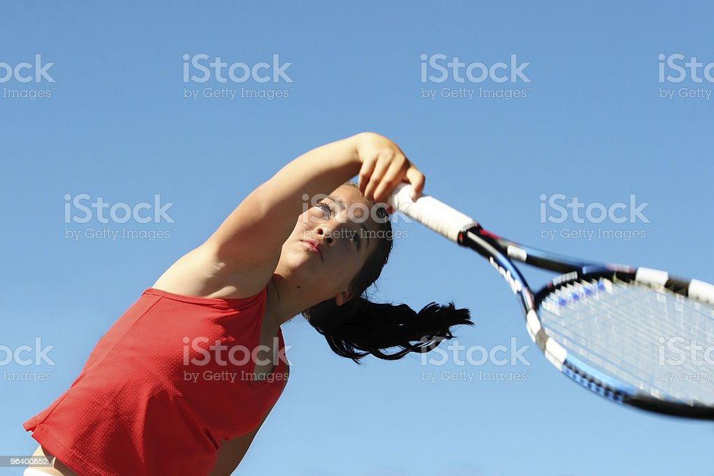 Concentration royalty-free stock photo