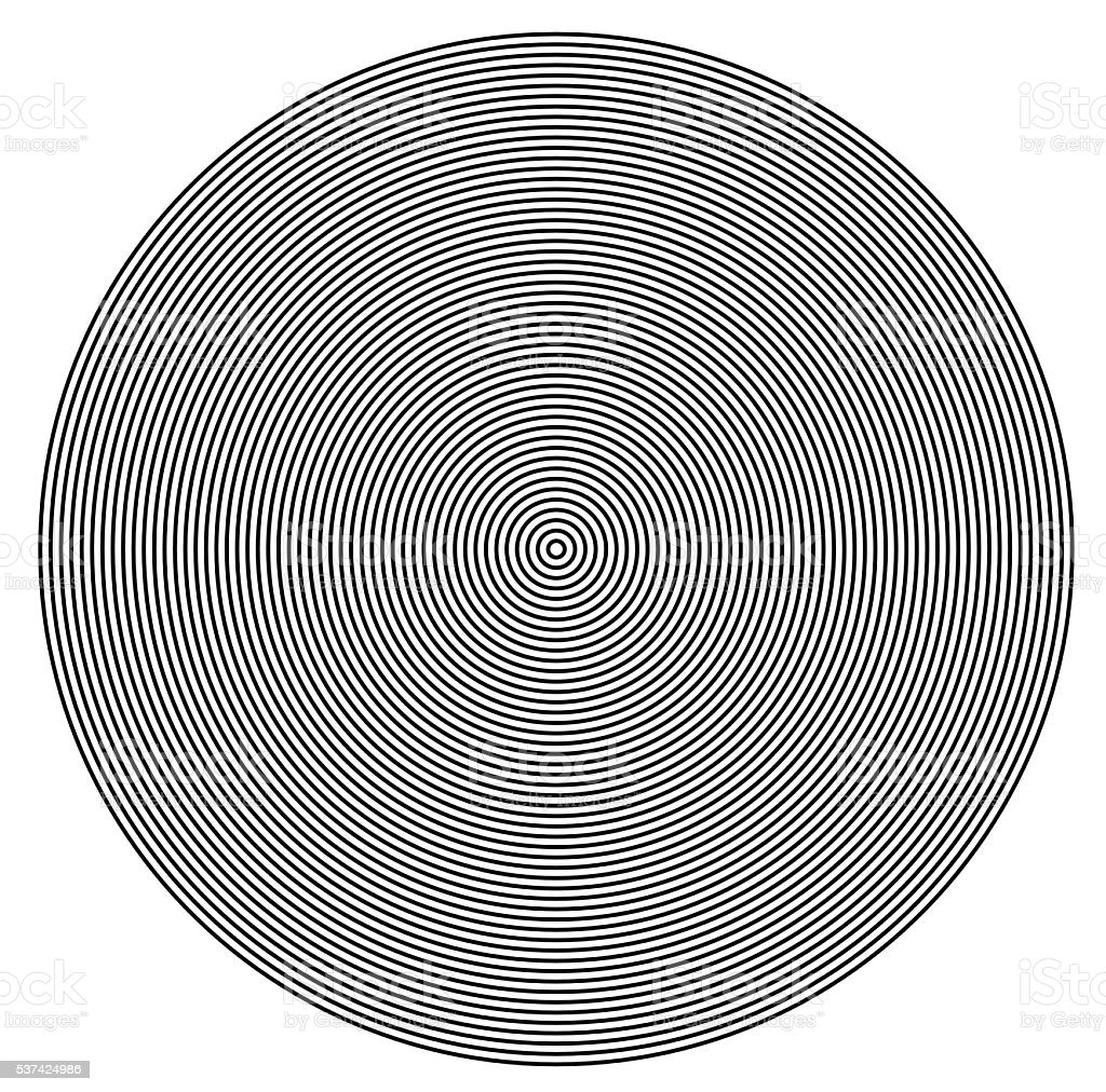 Concentric  circles from center texture stock photo