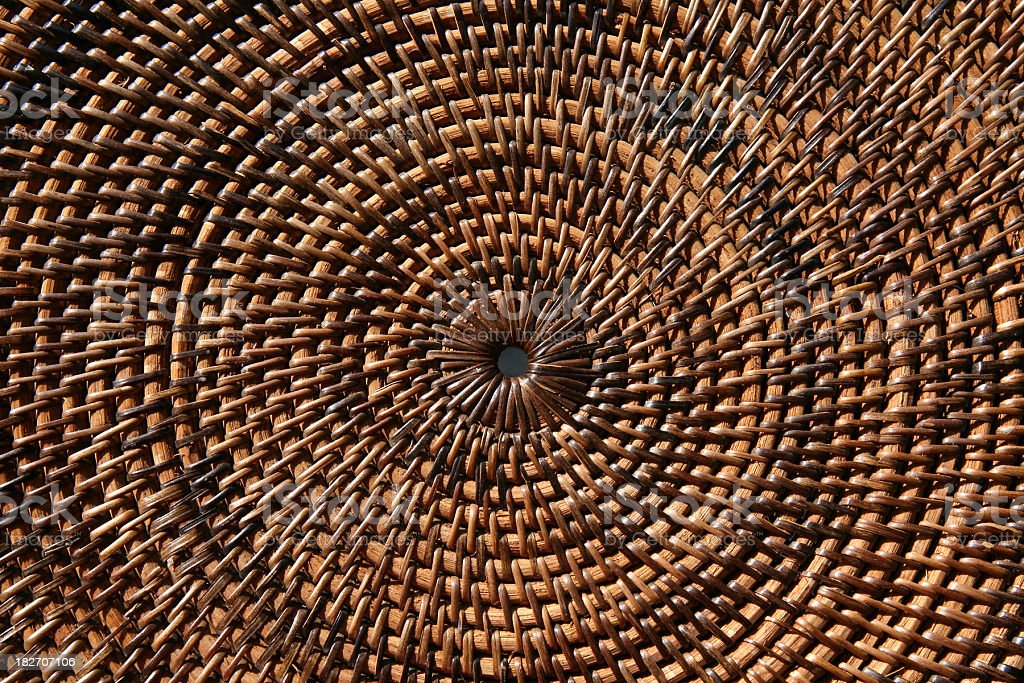 Concentric Circular Design Horizontal royalty-free stock photo