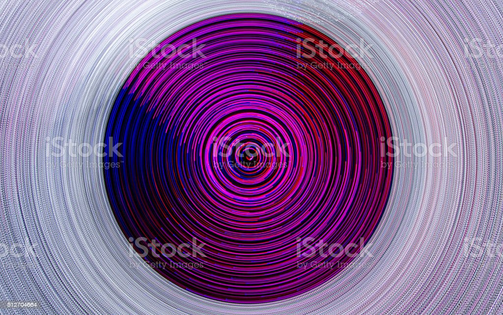 Concentric light wave stock photo