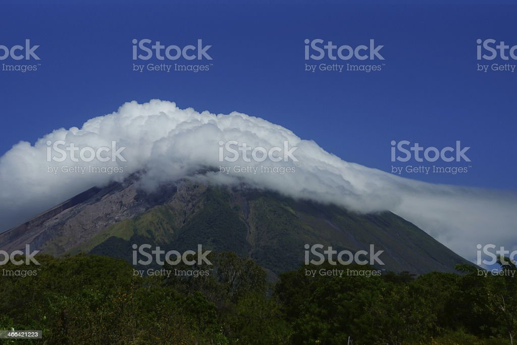 Volcan Concepci?n stock photo