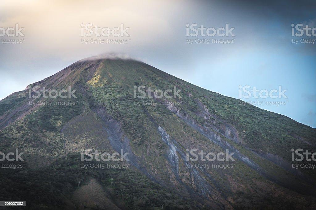 Concepcion Volcano View, Ometepe island, Nicaragua stock photo