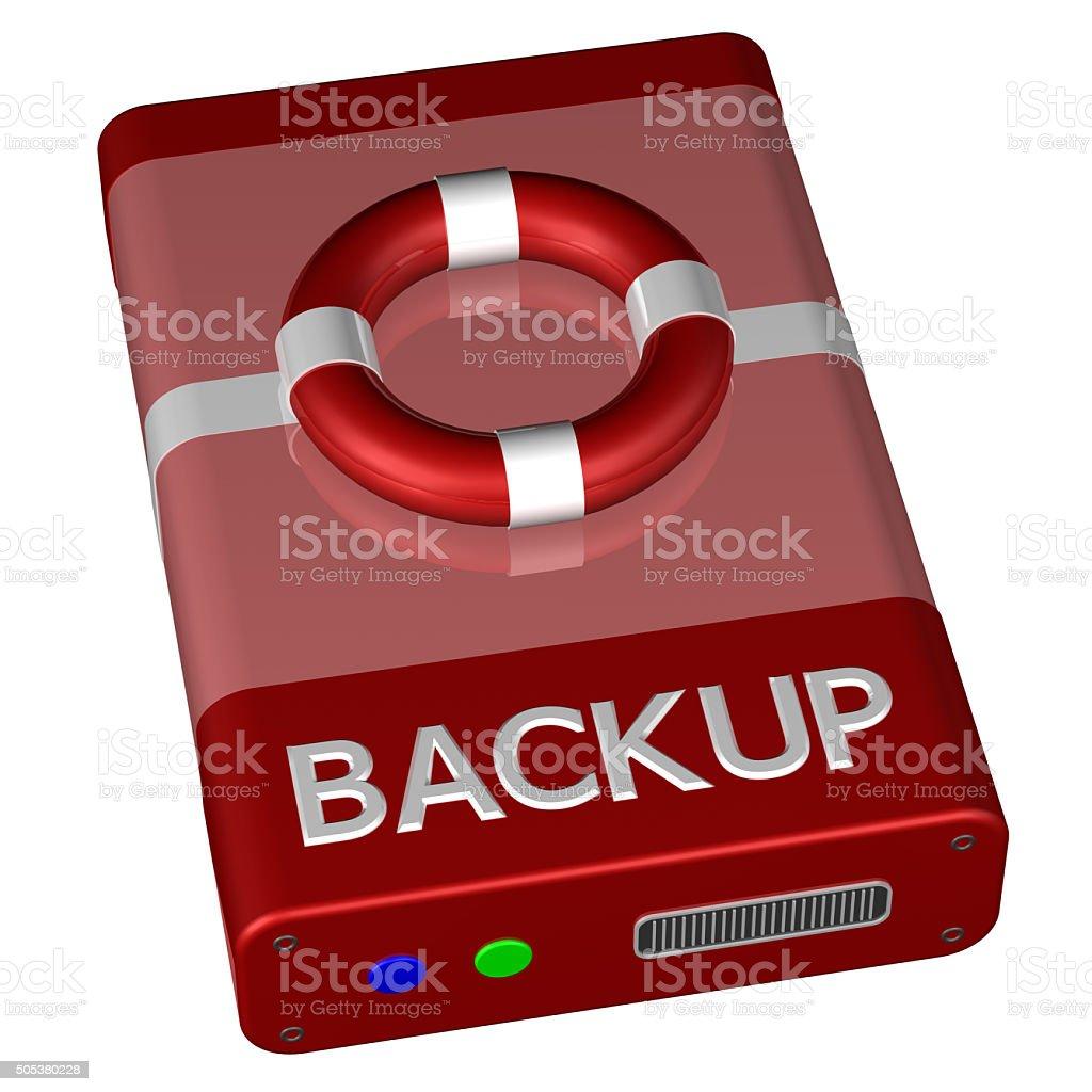 Concept - Backup stock photo