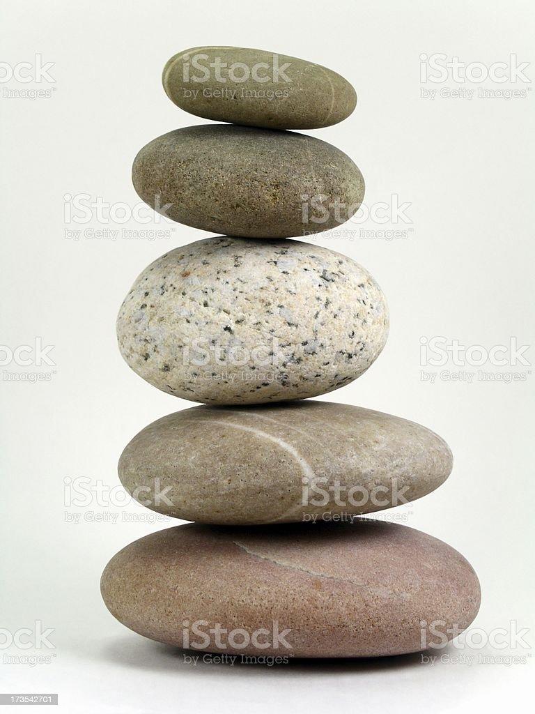 Concept: Balance, Calmness, Poise stock photo