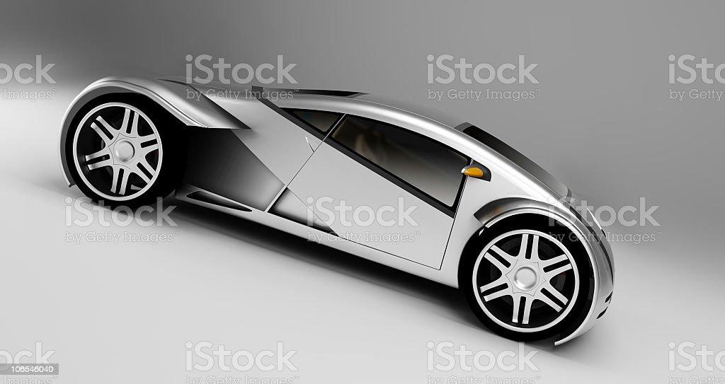 Concept Car royalty-free stock photo