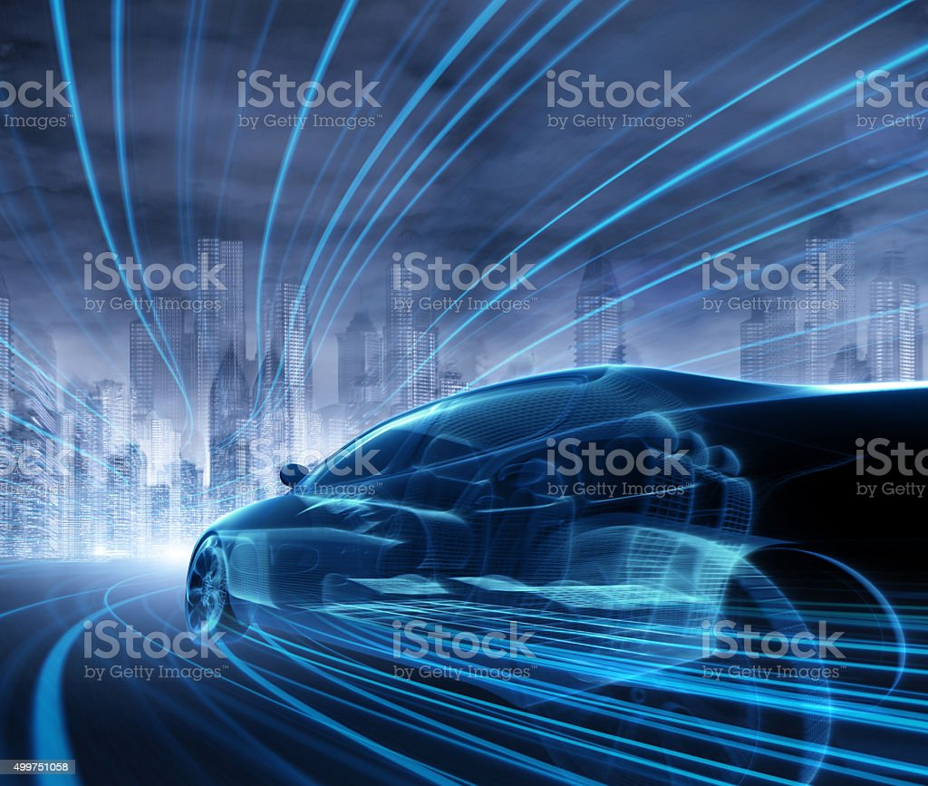 Concept Car stock photo
