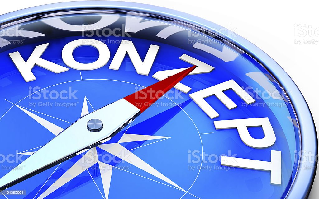 concept compass stock photo