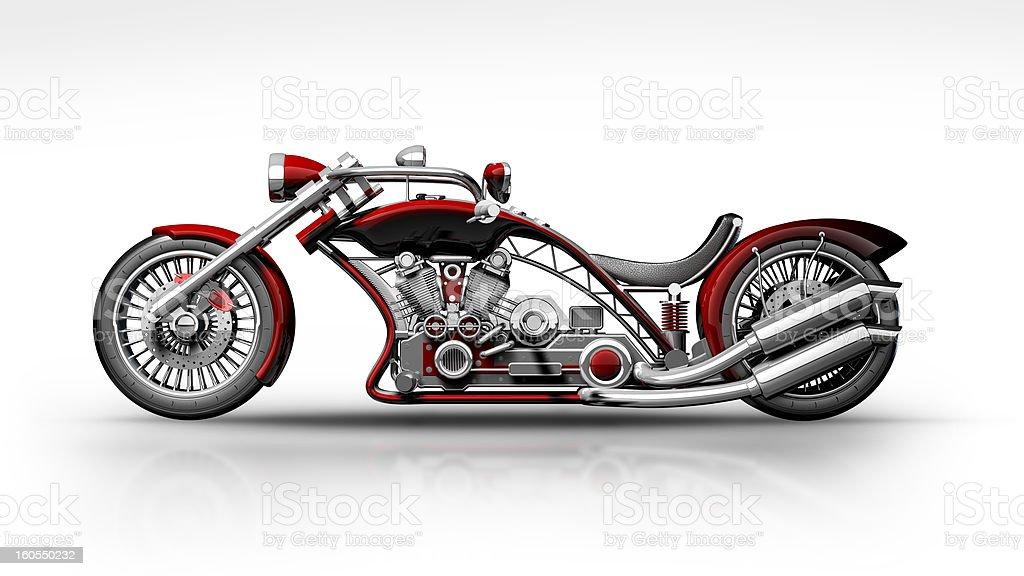 concept. custom bike royalty-free stock photo