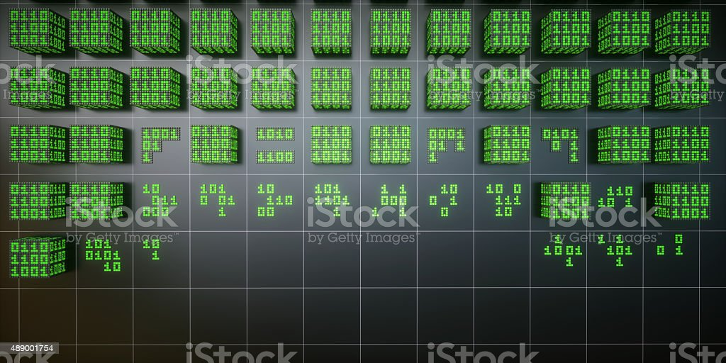IT Concept Data Mining Database A05 stock photo