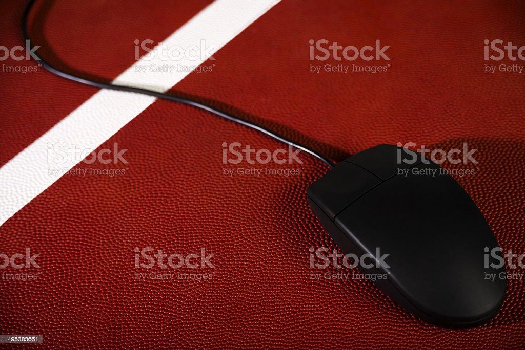 Concept - Fantasy American Football royalty-free stock photo