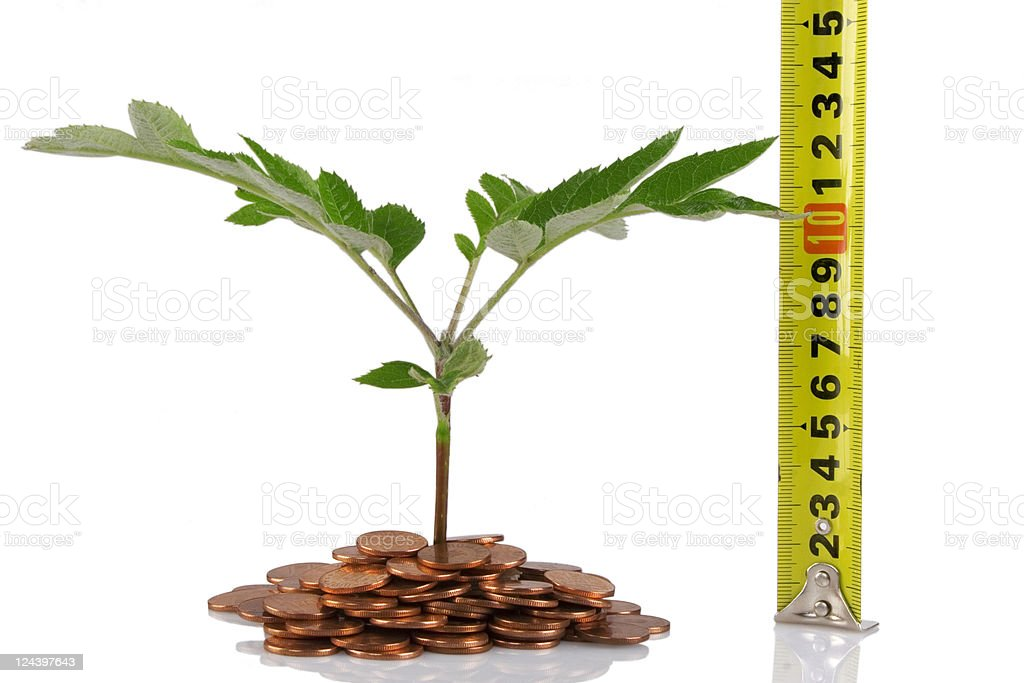 concept for business growth royalty-free stock photo