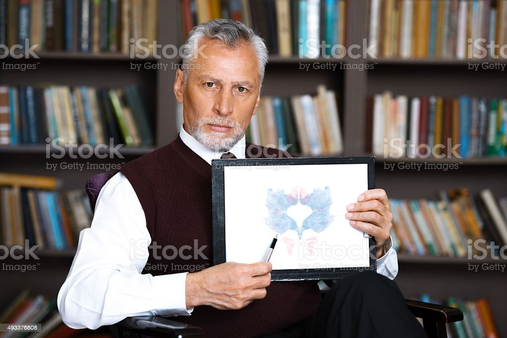 Concept for consultation with psychologist stock photo