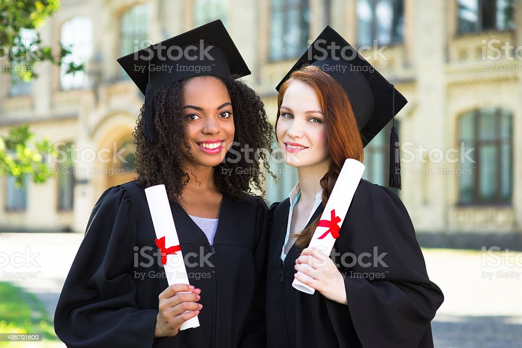 Concept for student graduation day stock photo