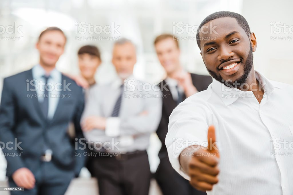 Concept for teamwork and knowledge transfer stock photo
