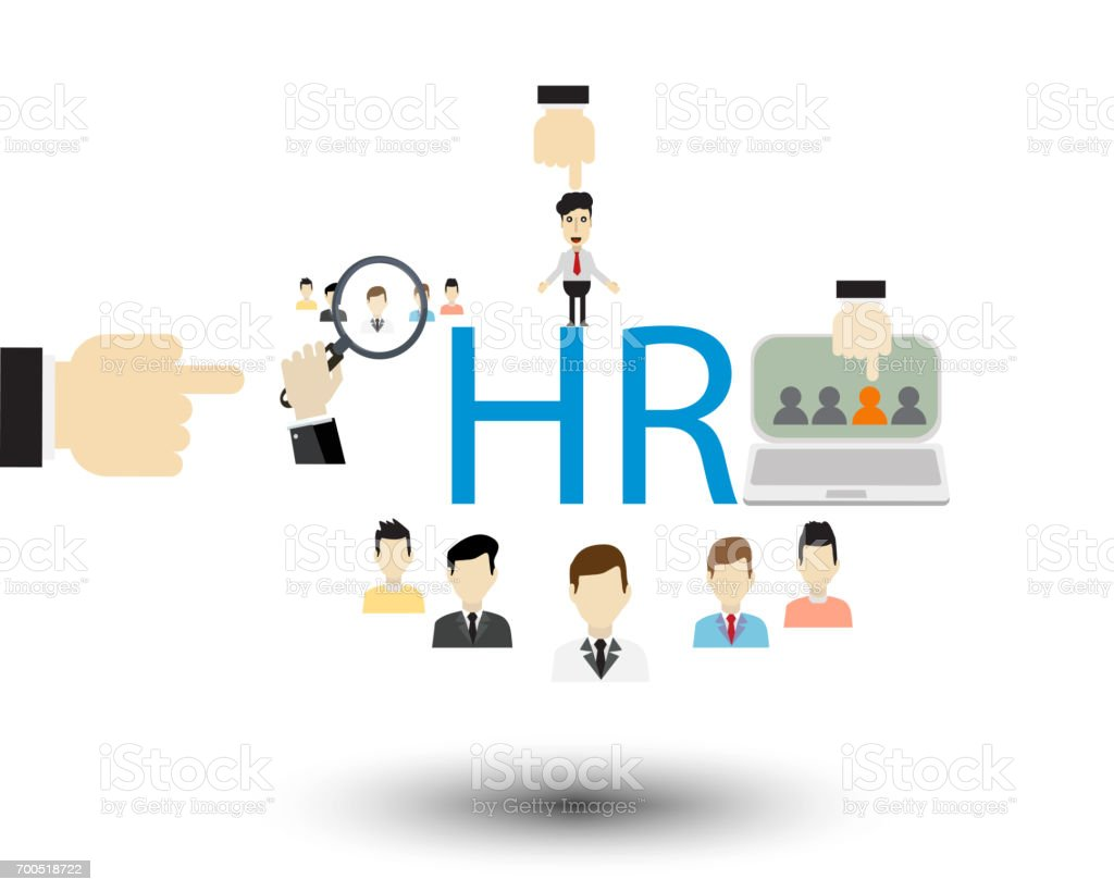 HR concept Human stock photo