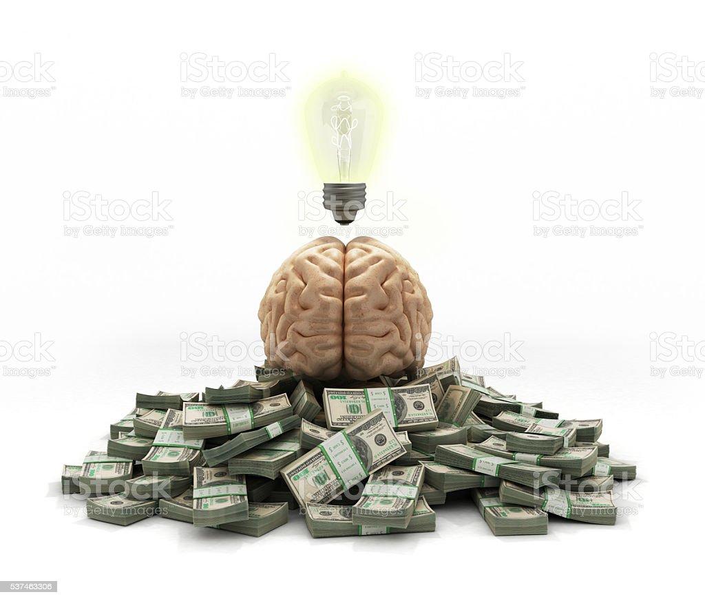 concept ideas generating good income mohg reward stock photo