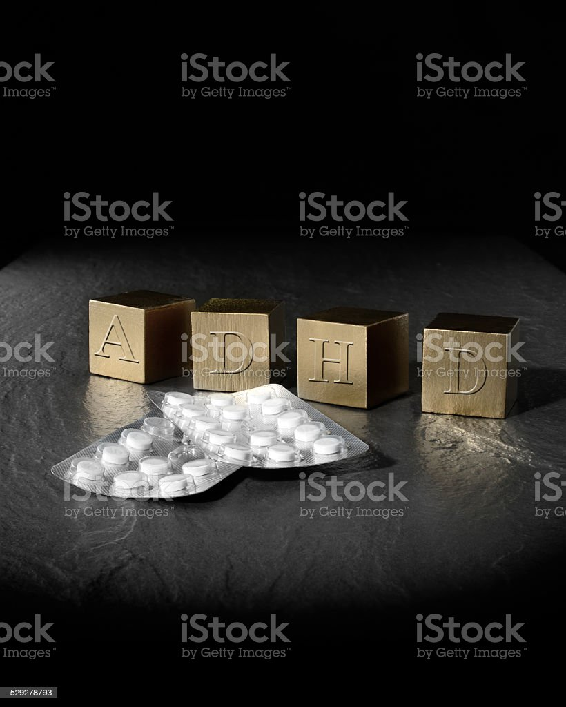 Concept Image for ADHD stock photo