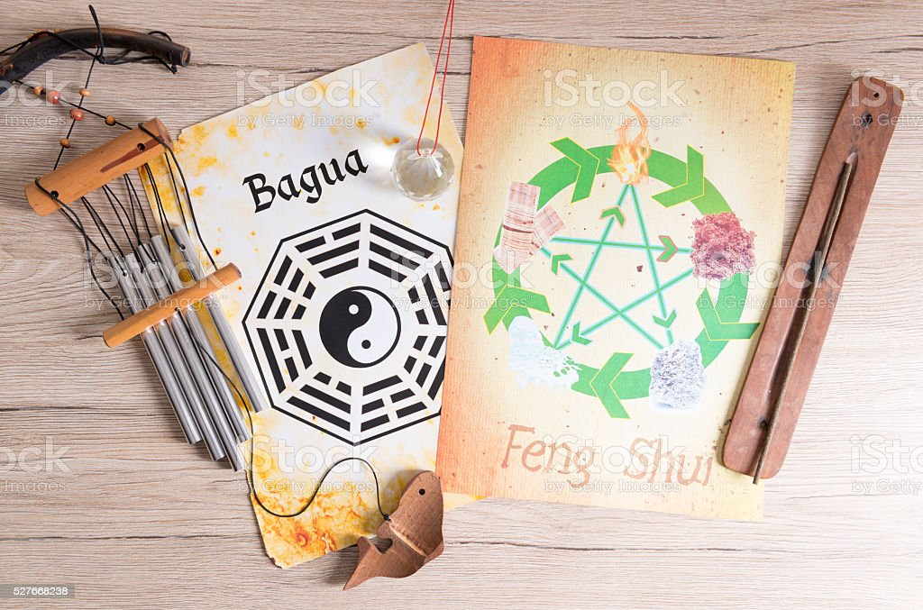 Concept image of Feng Shui stock photo