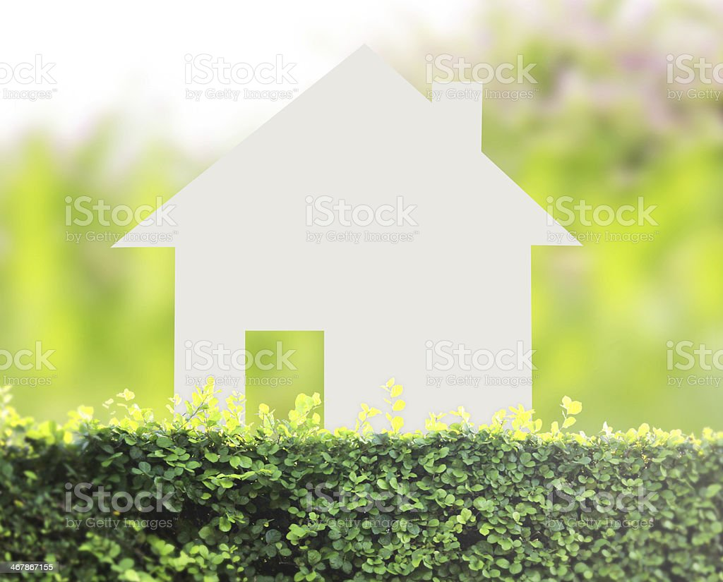 concept image of make your house stock photo