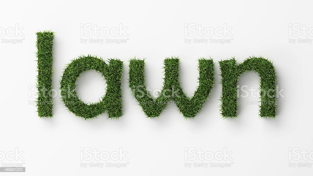 concept lawn royalty-free stock photo