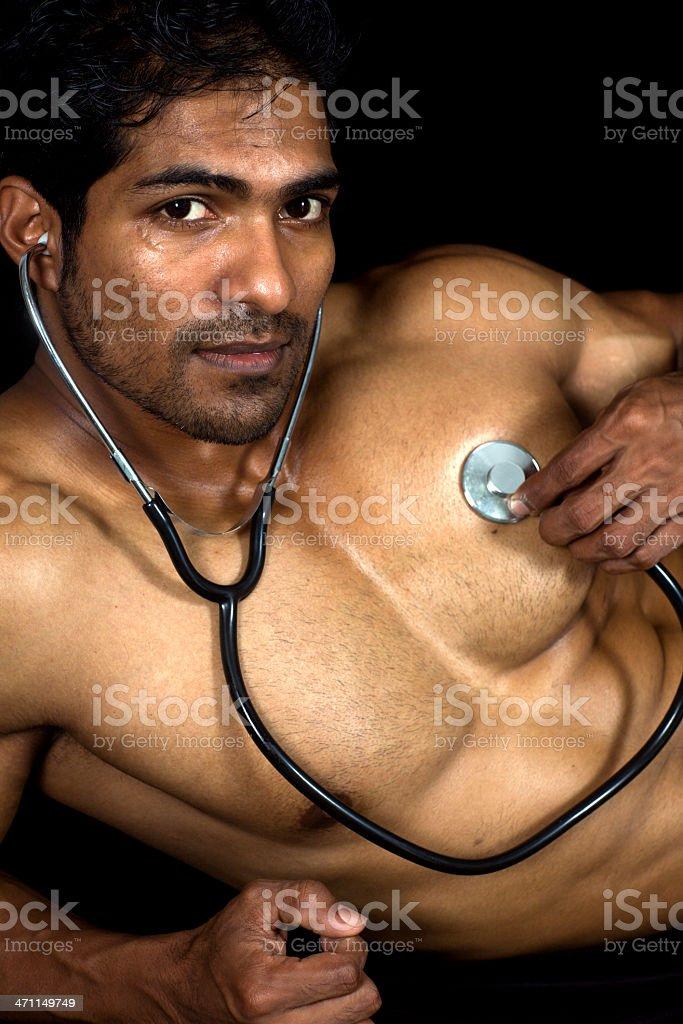 concept listen to your own heart speak stock photo