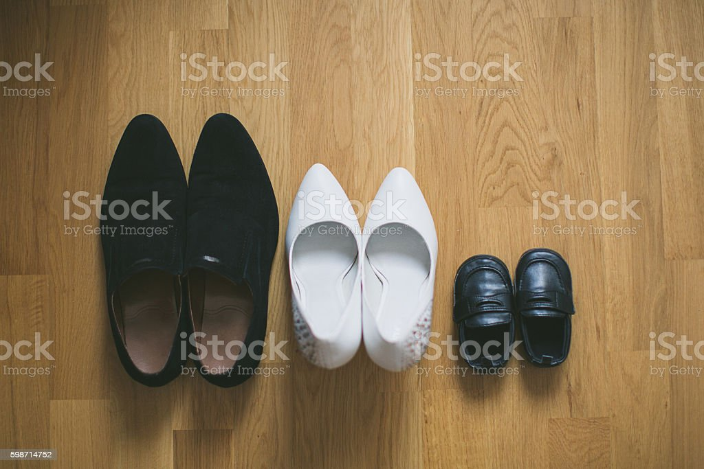 Concept of a family holiday stock photo