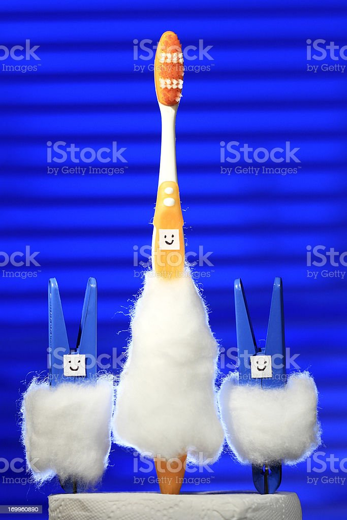 Concept of a happy family royalty-free stock photo