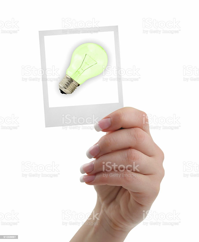 concept of a new idea royalty-free stock photo
