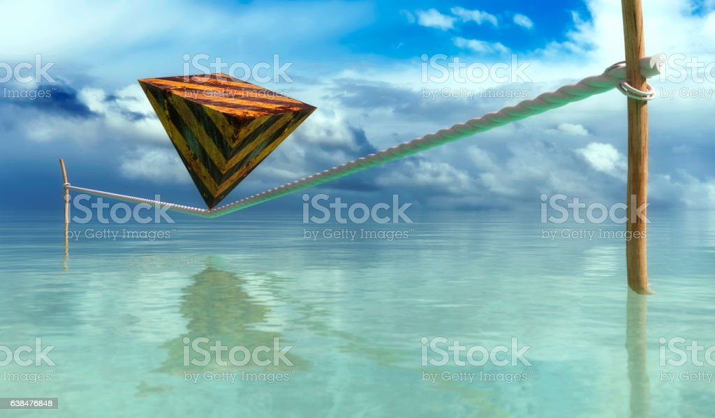 concept of balance and stability stock photo