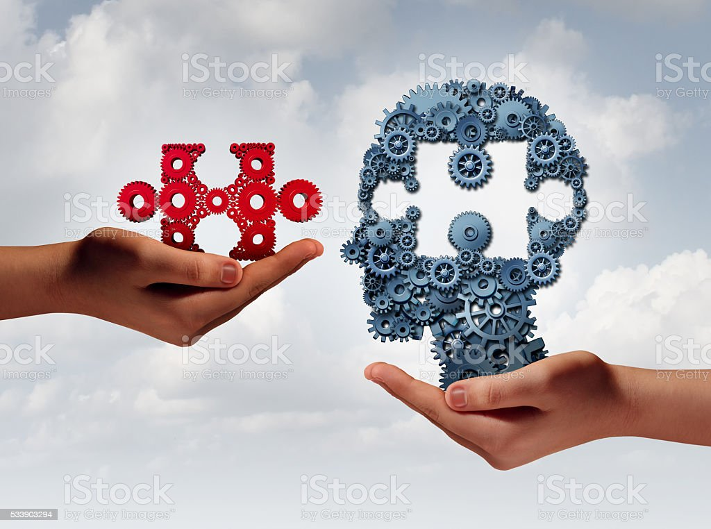 Concept Of Business Training stock photo